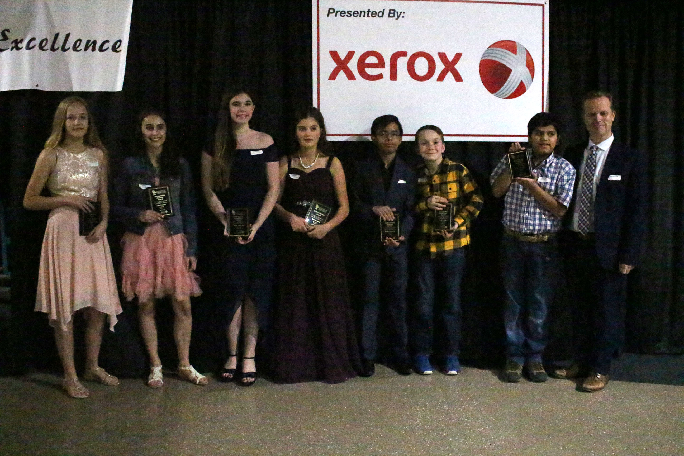 Special Thanks to Xerox for supporting the Striving for Excellence Dinner