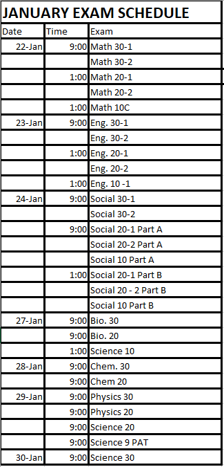 JANUARY EXAM SCHEDULE.PNG